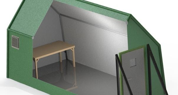 P2000 shielded tents