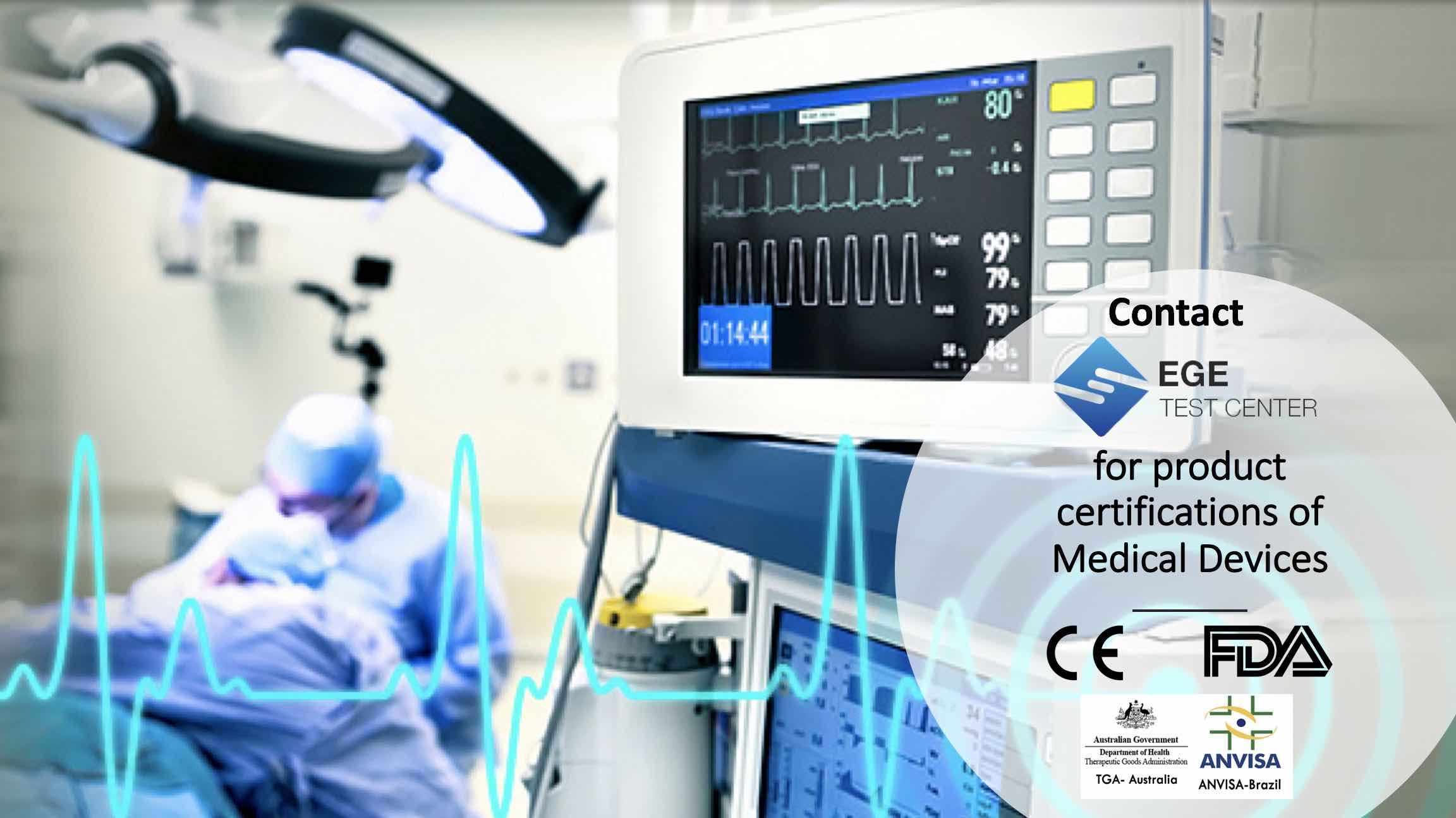 Product Certifications of Medical Devices | Ege Test Center